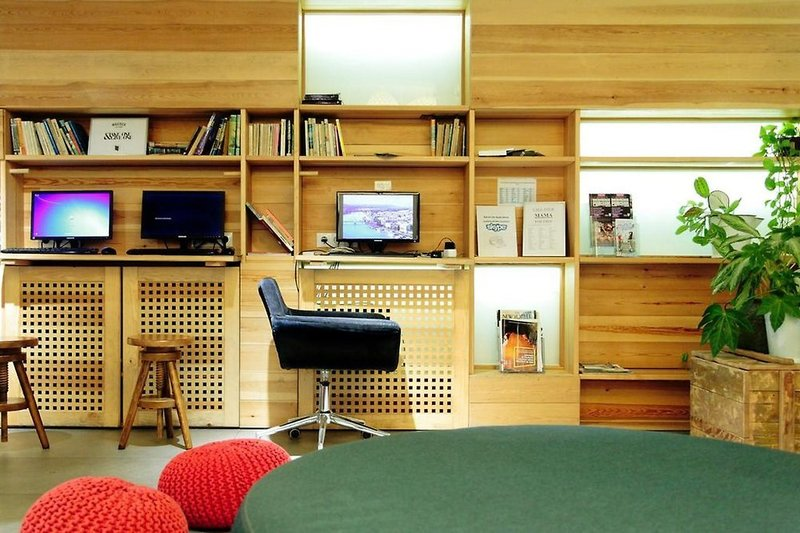 Maverick City Lodge Lounge/Empfang