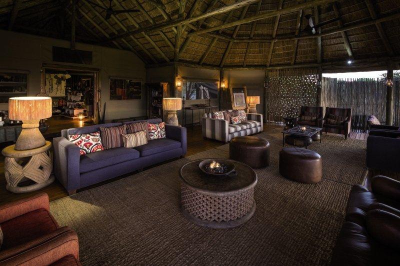 Kalahari Plains Camp Lounge/Empfang
