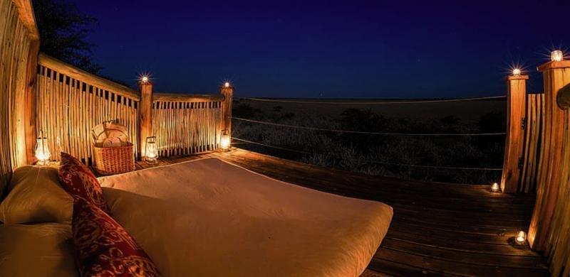 Kalahari Plains Camp Terrasse