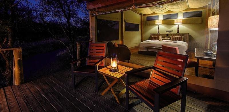 Kalahari Plains Camp Wohnbeispiel