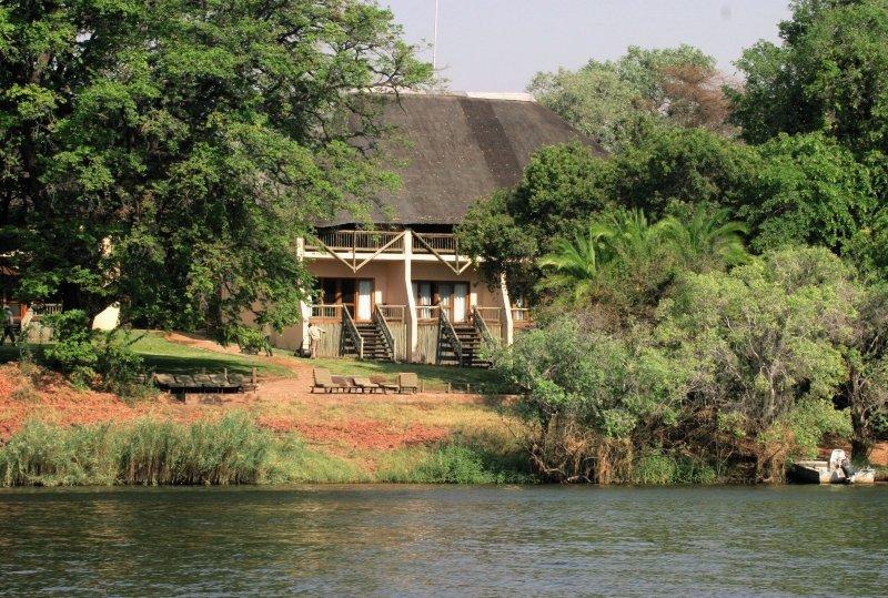 Chobe Safari Lodge Außenaufnahme