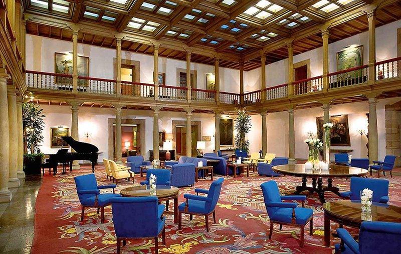 Eurostars Hotel de La Reconquista Lounge/Empfang