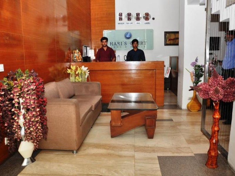 Hari´s Court Inns & Hotels - Lajpat Nagar Lounge/Empfang