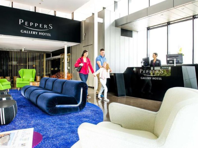 Peppers Gallery Hotel Canberra Lounge/Empfang