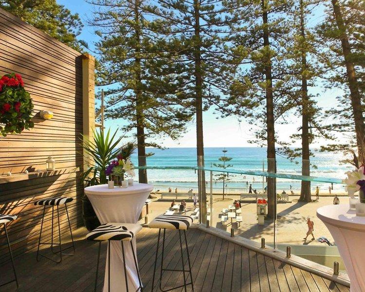 The Sebel Manly Beach Terrasse
