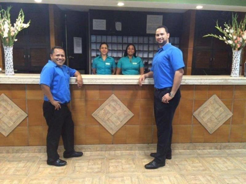 Hotel Caribe Panama Lounge/Empfang