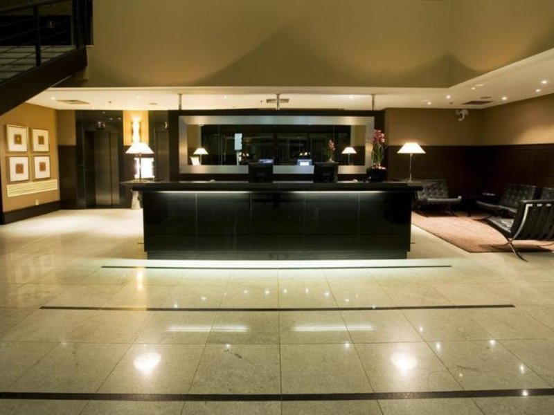 Slaviero Executive Jardins Lounge/Empfang