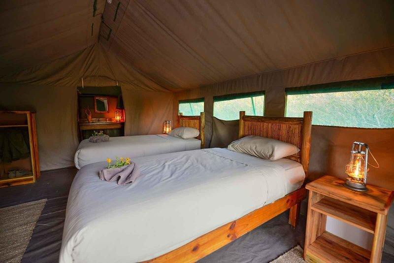 Tuskers Bush Camp Wohnbeispiel