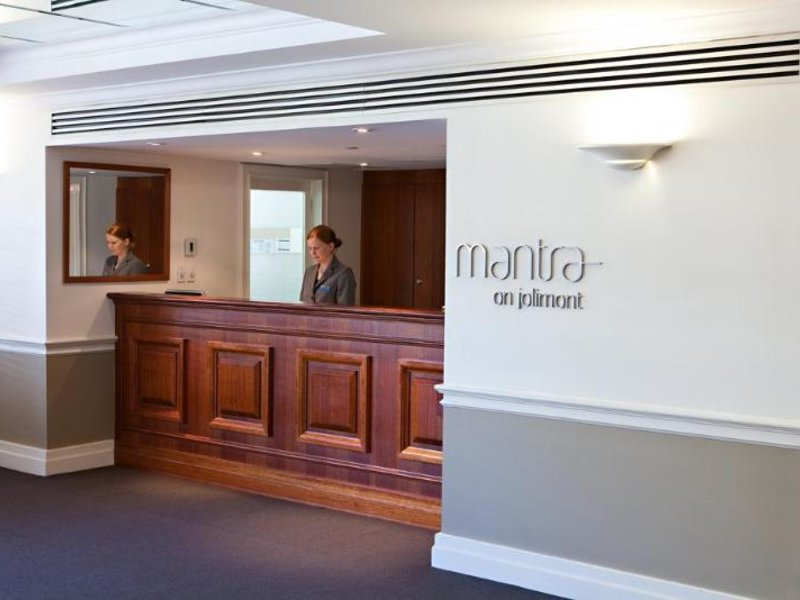 Mantra on Jolimont Lounge/Empfang