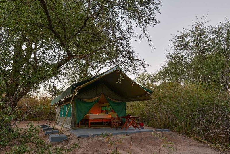 Tuskers Bush Camp Außenaufnahme