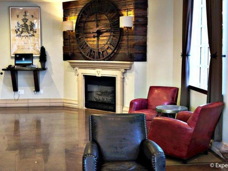 Anaheim Camelot Inn & Suites Lounge/Empfang