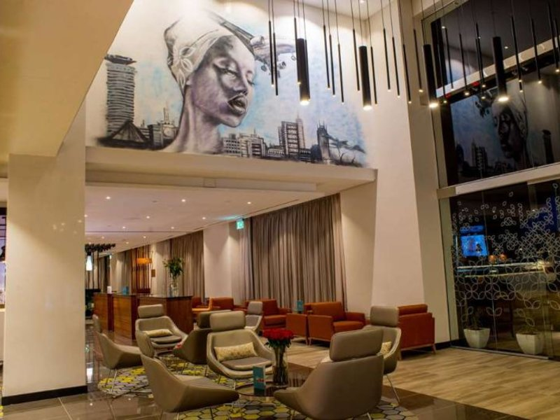 Hilton Garden Inn Nairobi Airport Lounge/Empfang
