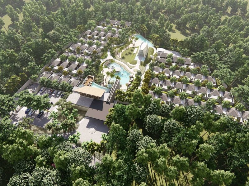 X2 Bali Breakers Resort Außenaufnahme