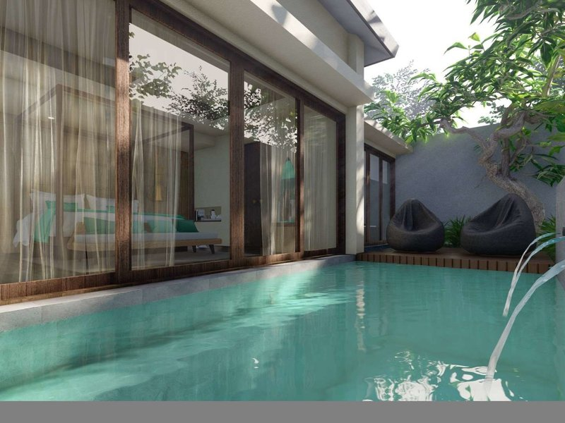 X2 Bali Breakers Resort Hallenbad
