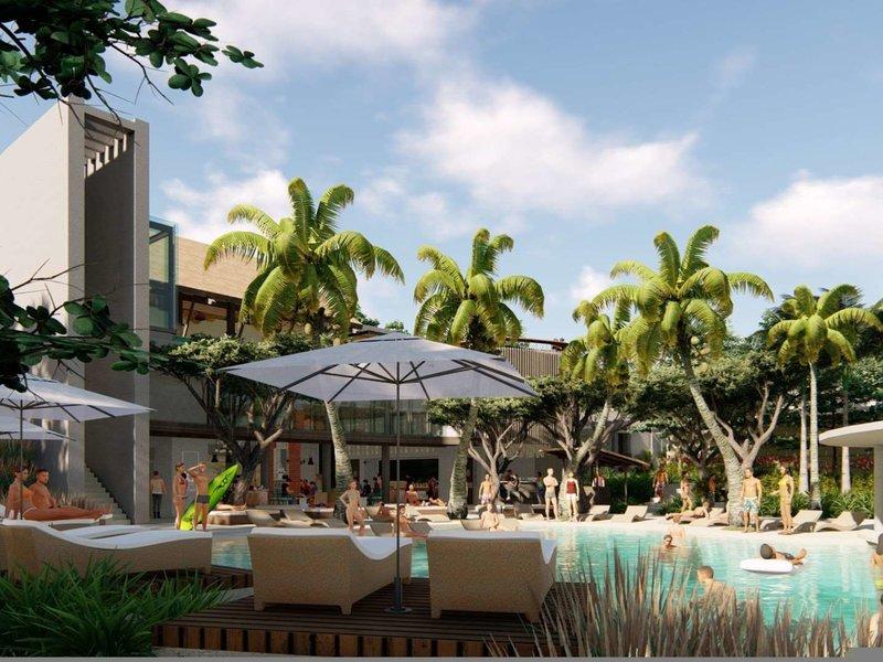 X2 Bali Breakers Resort Terrasse
