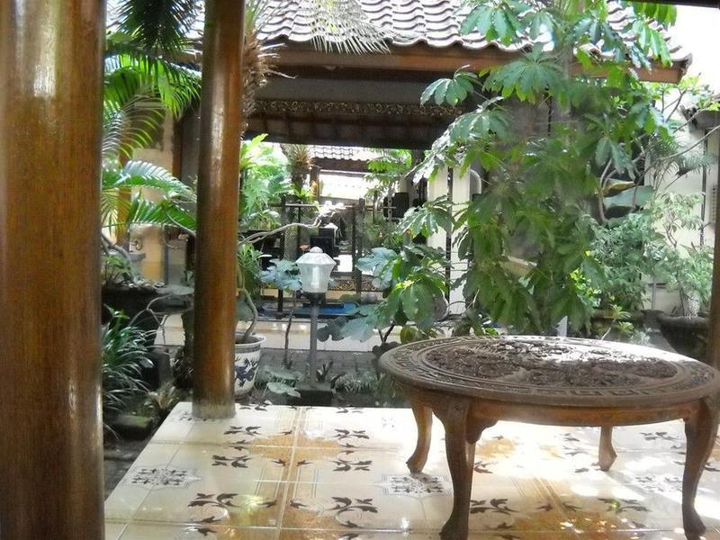 Bali Sorgawi Hotel Garten