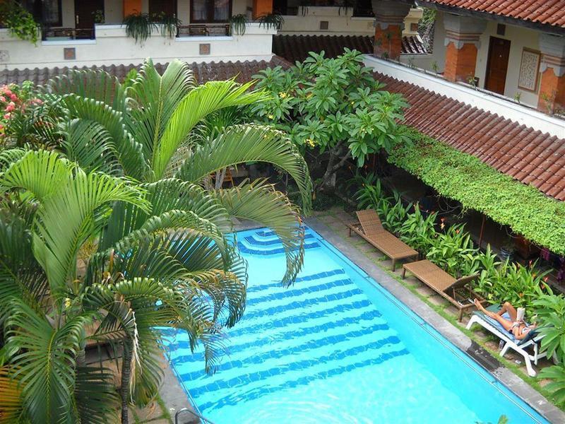 Bali Sorgawi Hotel Terrasse