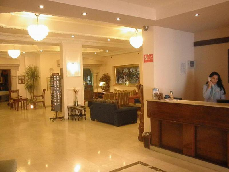 Commodore Hotel Jerusalem Lounge/Empfang