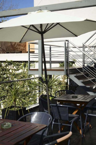 Abril Hotel Boutique Lounge/Empfang