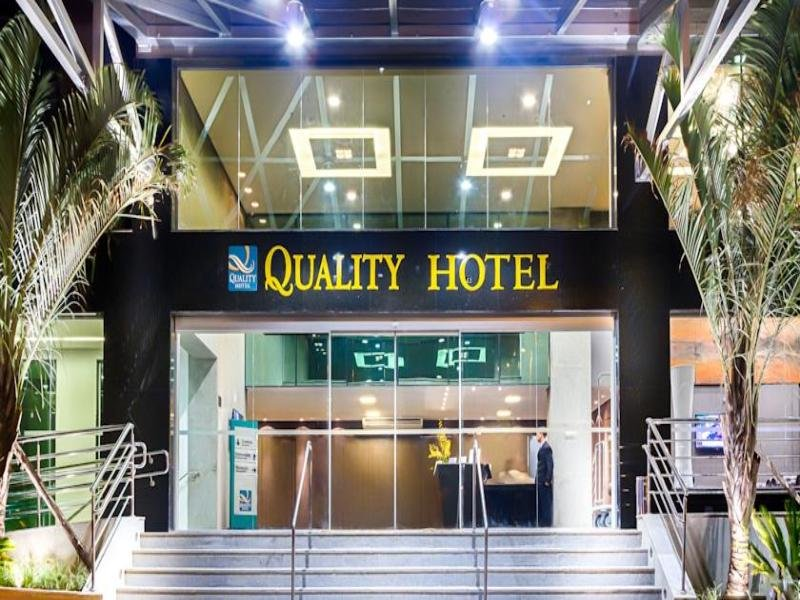 Quality Hotel Pampulha Lounge/Empfang