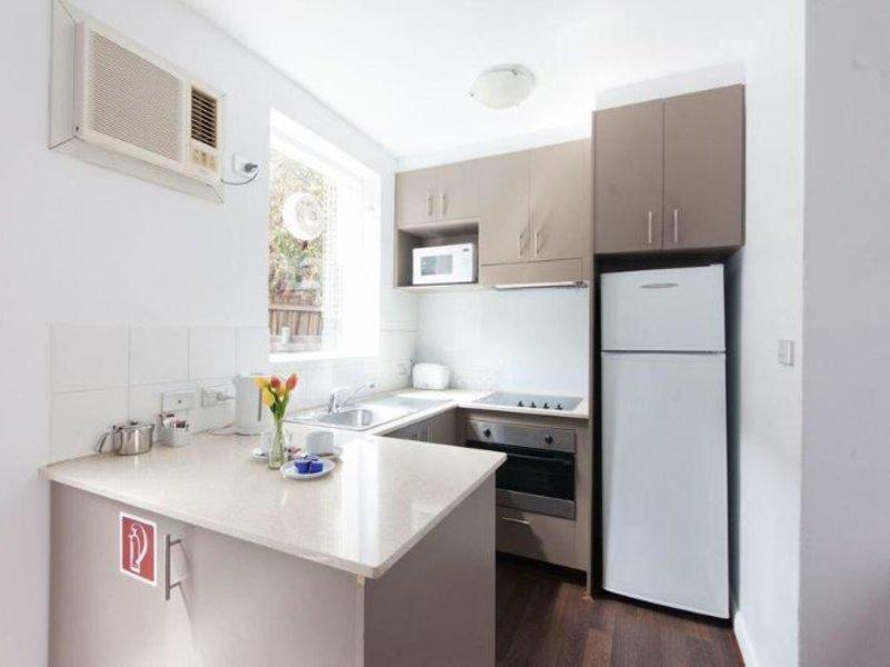 Easystay Apartments Raglan Street Badezimmer