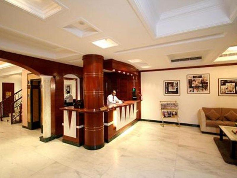 Grand President Delhi Lounge/Empfang