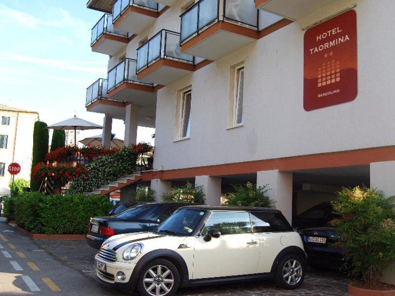 Taormina Hotel Außenaufnahme