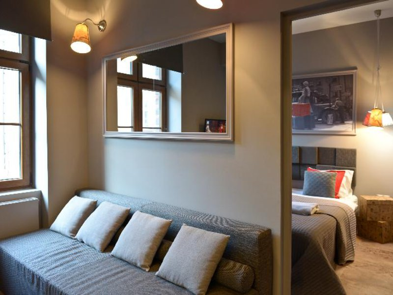 La Gioia Grey Stylish Apartments Wohnbeispiel