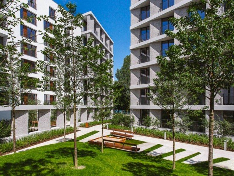 Platinum Residence Mokotow Außenaufnahme