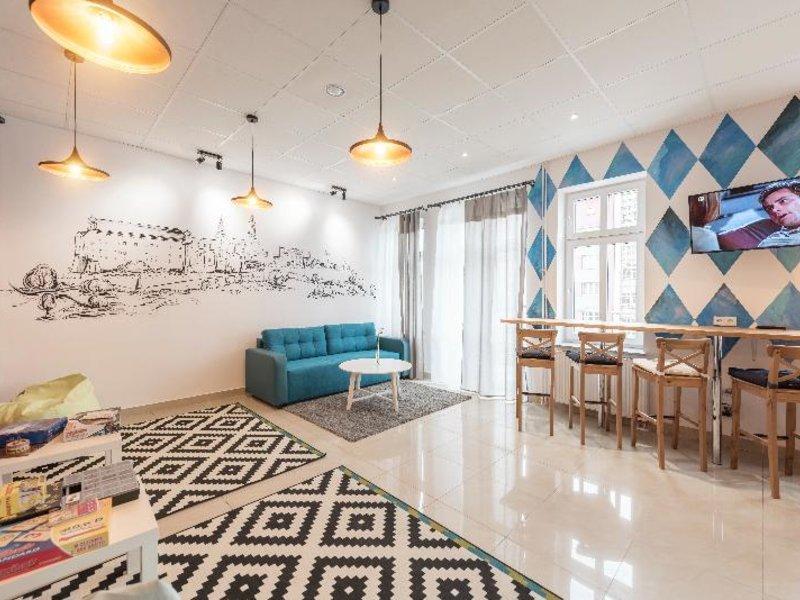 Ginger Hostel Lounge/Empfang
