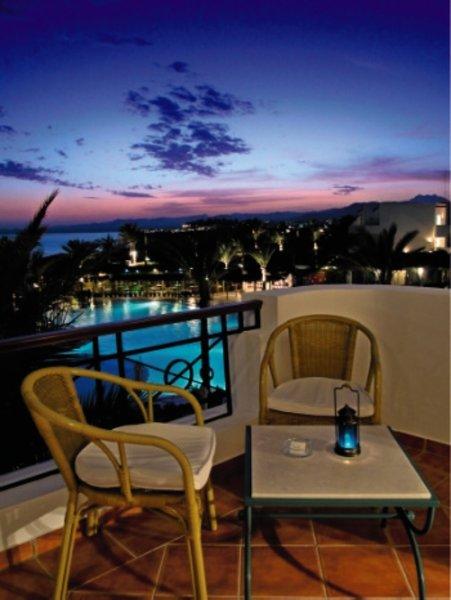 Jaz Fanara Resort  Terrasse