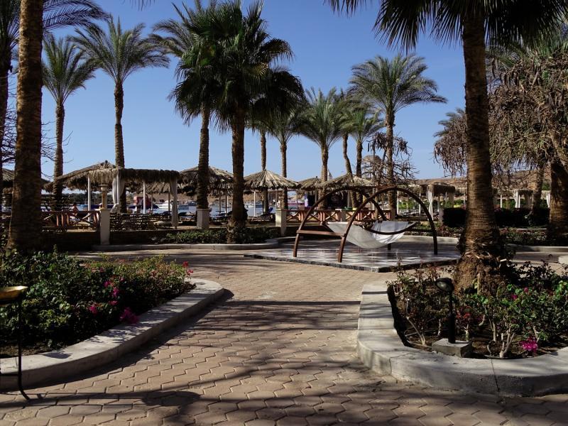 Iberotel Palace Sharm El Sheikh Garten