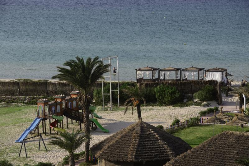 SunConnect One Resort Monastir Terrasse