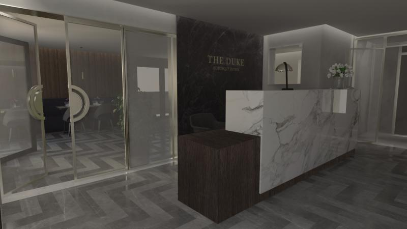 The Duke Boutique Hotel Lounge/Empfang