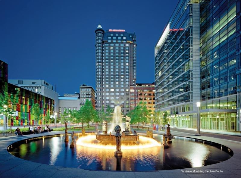 Intercontinental Montreal Stadtansicht