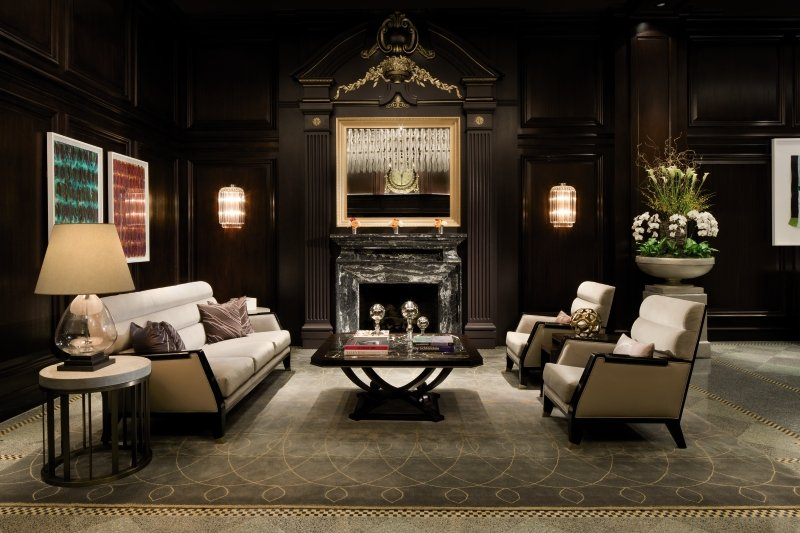 Rosewood Hotel Georgia Lounge/Empfang