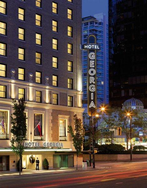 Rosewood Hotel Georgia Außenaufnahme