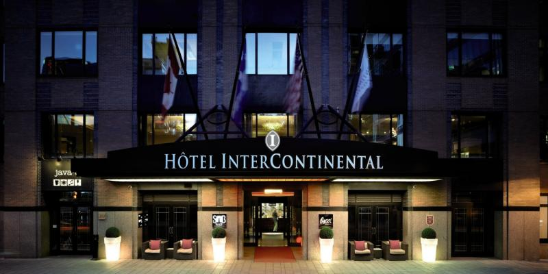 Intercontinental Montreal Außenaufnahme