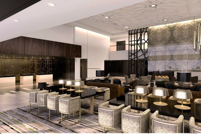 Loews Chicago Lounge/Empfang