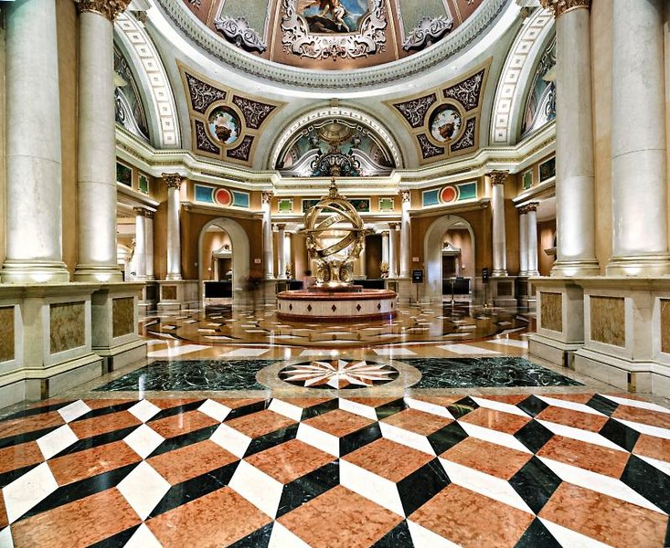 The Venetian Resort Hotel & Casino Lounge/Empfang