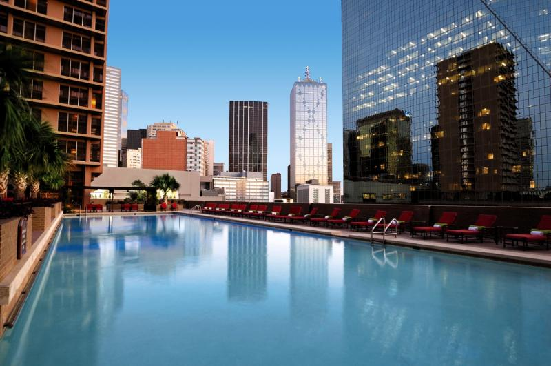 The Fairmont Dallas Pool