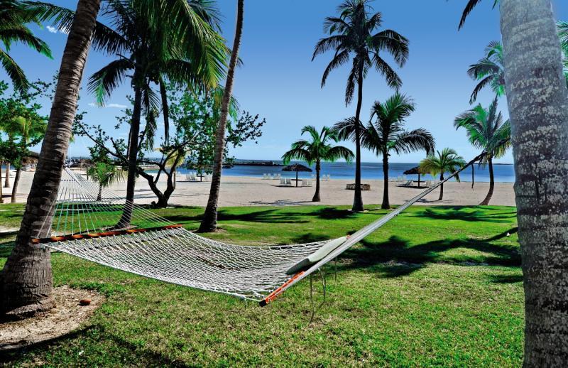 Abaco Beach Resort Garten