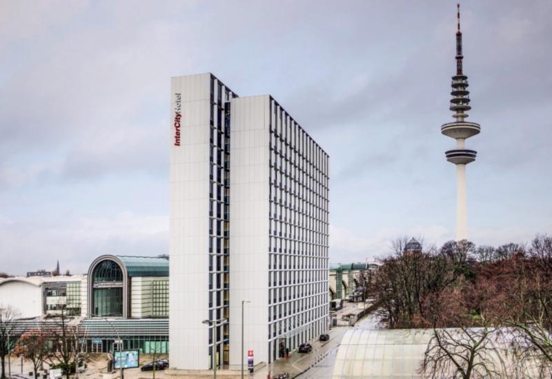 InterCityHotel Hamburg Dammtor-Messe Außenaufnahme
