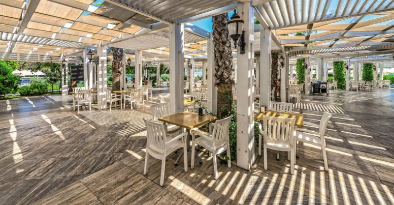 Side Serenis Hotel Terrasse