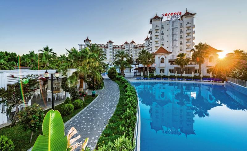 Side Serenis Hotel Garten