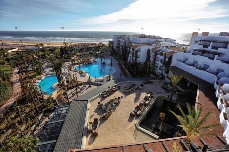 Riu Tikida Beach - Erwachsenenhotel Terrasse