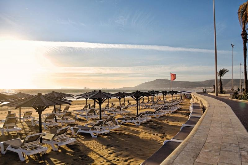 Riu Tikida Beach - Erwachsenenhotel Strand
