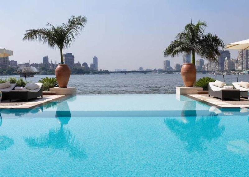 Sofitel El Gezirah Kairo Pool
