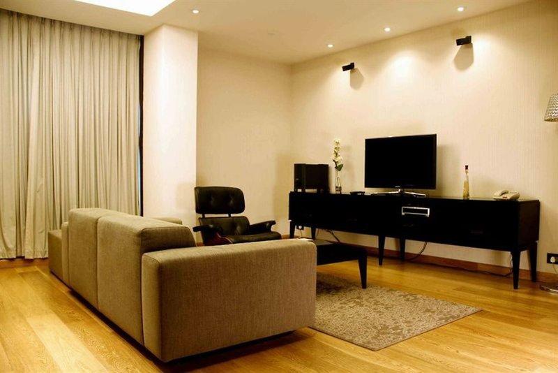 Fraser Suites New Delhi Lounge/Empfang