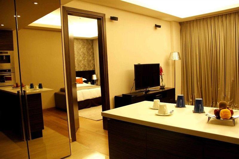 Fraser Suites New Delhi Badezimmer